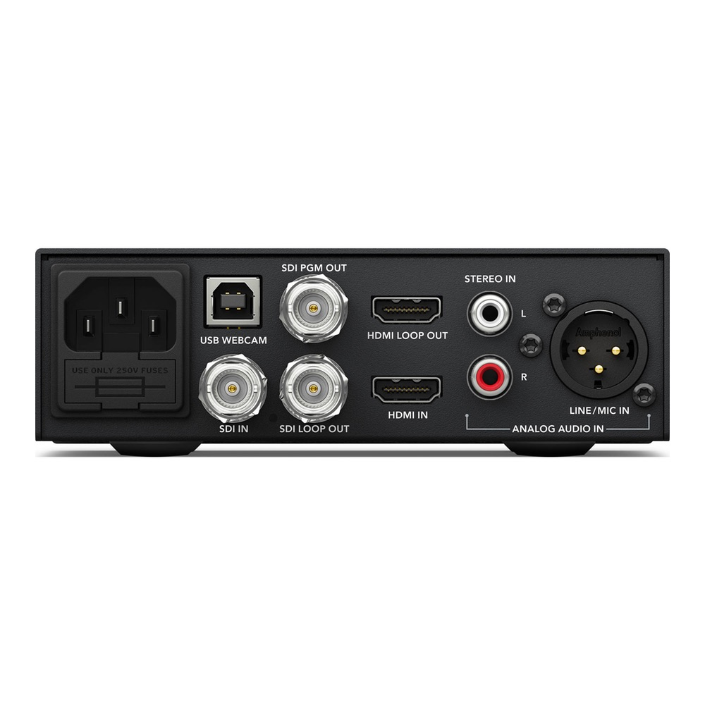 Blackmagic Design Web Presenter W Teranex Mini Smart Panel Wireless Sounds